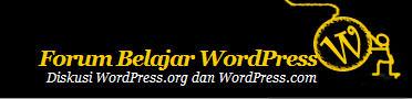 Forum Belajar WordPress