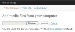 browser uploader lebih ringan untuk upload image